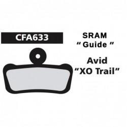 SRAM Guide/Avid XO Trail Green