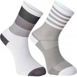 Sportive mid sock twin pack